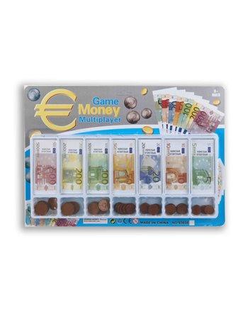 Speelgeld in geld lade op kaart 8003