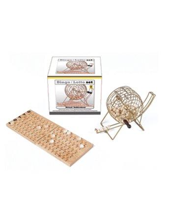 Lotto/bingomolen metaal + hout 360567-W