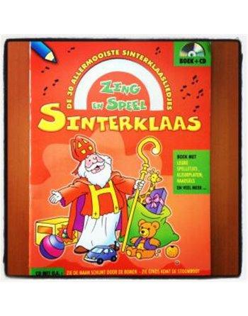 Sint speelboek met cd