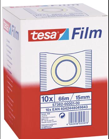 10 Tesa plakband 66x15 in flowpack 57382