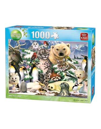 King Arctic puzzel 1000 st. 05485