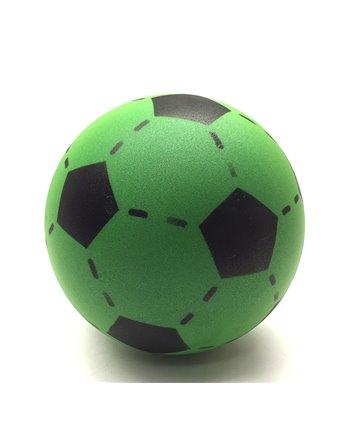 Foam voetbal groen 20 cm.