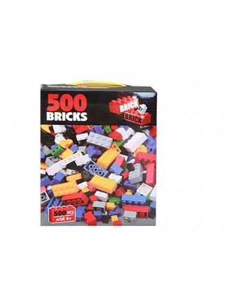 500 Bouwblokken in doos 8057