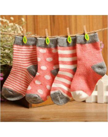 Sokken Meisjes - roze, wit...