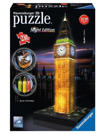 Big Ben Night Edition 3D 125883