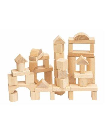 Woody 50 naturel bouw blokken 90650