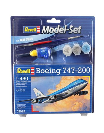 Model Set Boeing 747-200 1:450 63999