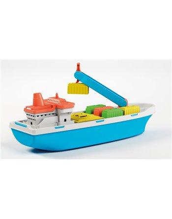 Vrachtschip met containers 40 cm. 837