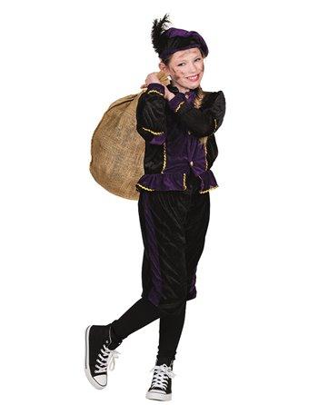 Kinderkost. Zwarte Piet Paars 4-6 56803
