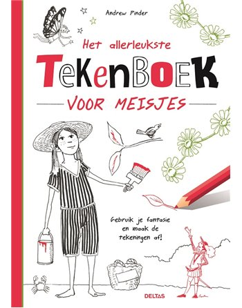 Allerleukste tekenboek meisjes 7,95 adv.