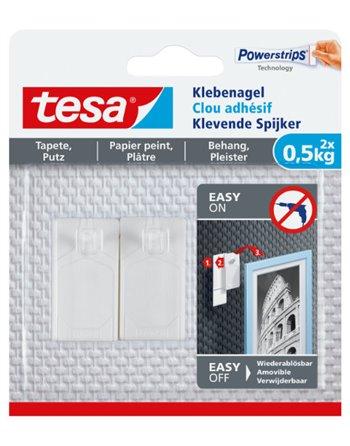 Tesa klevende spijker 77772
