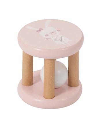 Little dutch rammelaar roller roze 4404