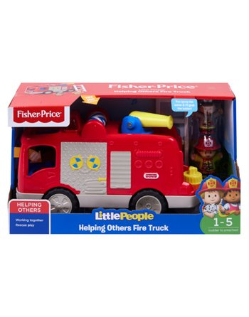 F.P. little people brandweerauto FPV35