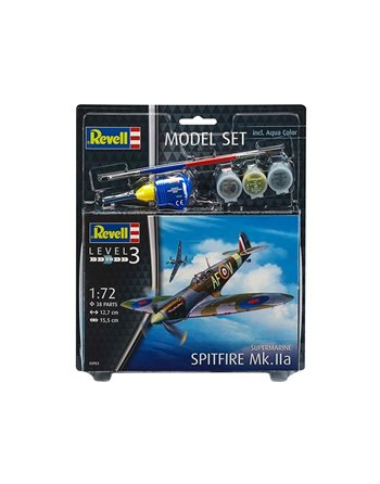 Model Set spitfire Mk.lla 1:72 63953