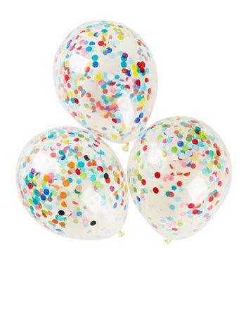6 confetti ballonnen in zak 2610