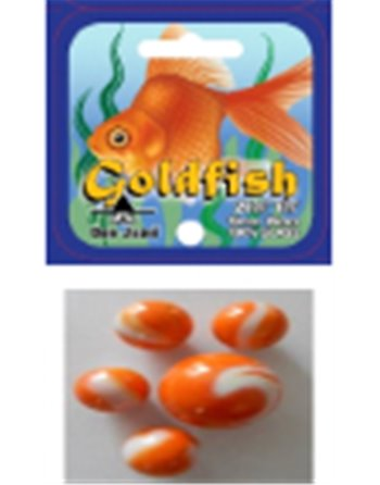 2 Goldfish knikkers 42mm 4056