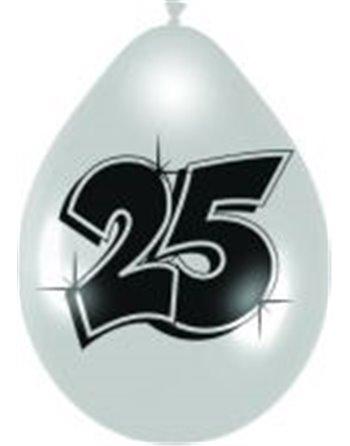 8 cijferballonnen nr. 25 2191