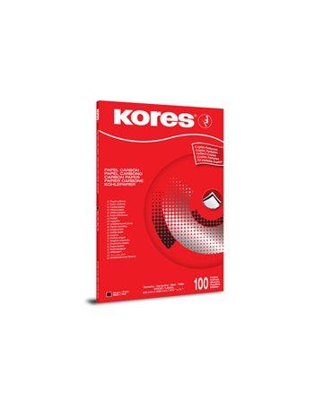 10 vel carbonpapier zwart A4 Kores