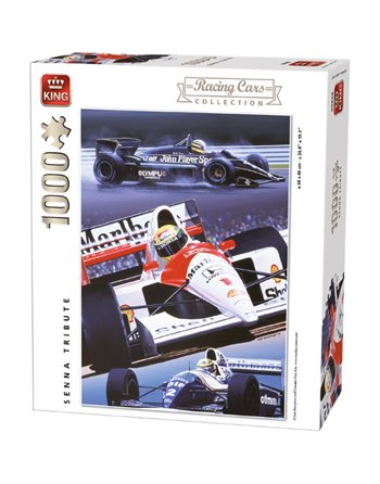 King puzzel 1000 st. Senna Tribute 5628