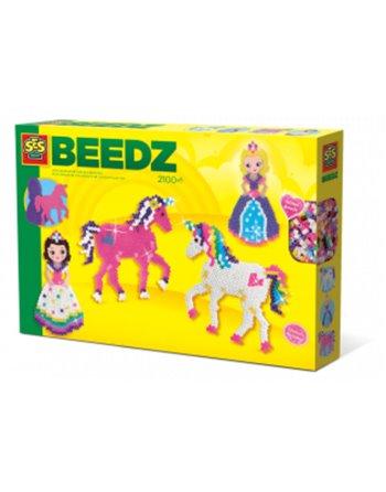 SES Beedz-Strijkkralen Eenhoorns-prinses
