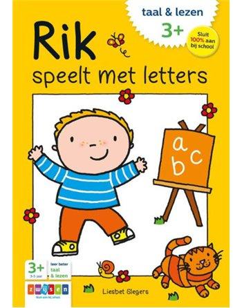 Rik speelt met letters 733750