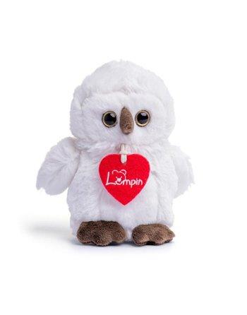 Lumpin Merlin white owl 15 cm 94125
