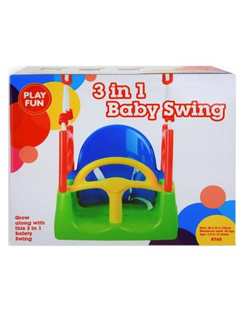 Baby schommel Playfun 3 in 1 78765