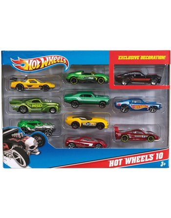 Hotwheels 10 car pack 54886
