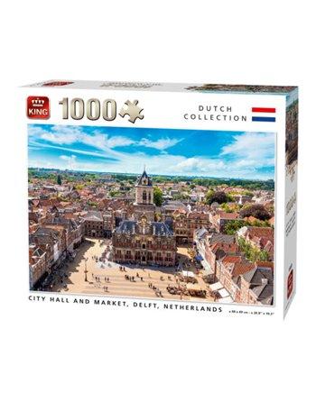 King puzzel 1000 st. city hall 55869