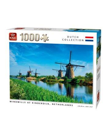 King puzzel 1000 st. windmills 55885