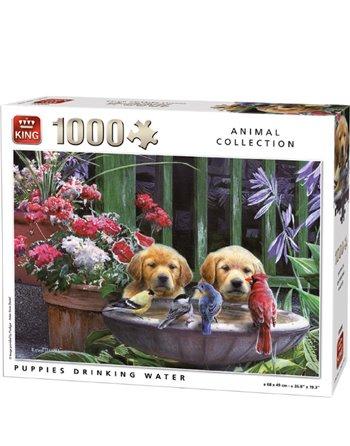 King puzzel 1000 st. Puppy's 5668