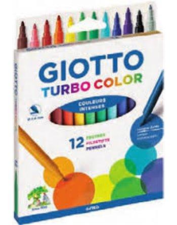 12 Giotto Turbo maxi viltstiften F076400