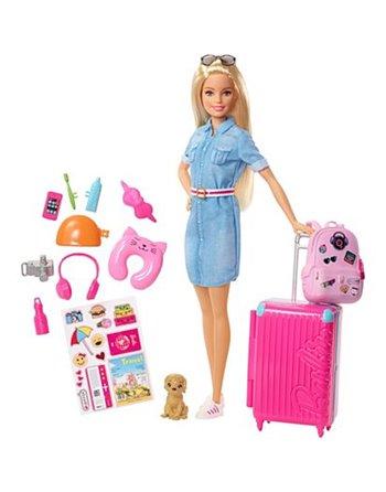 Barbie gaat op reis pop FWV25