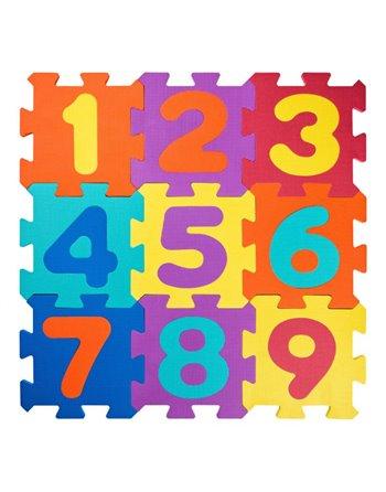 EVA foam Cijfer puzzel mat 91627