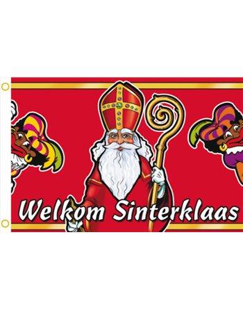 Gevelvlag Sinterklaas 90x60cm 410306