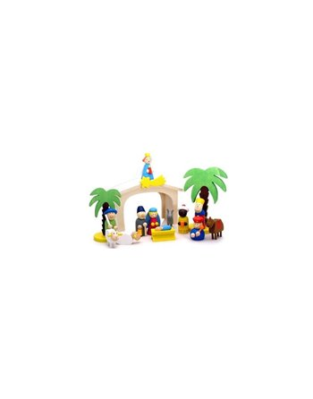 Simply for kids Kerststal hout 33538